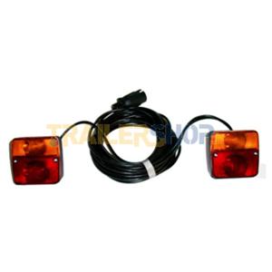 Schema Elettrico Per Carrello Appendice : Prodotto impianto elettrico poli cavo metri ricambi rimorchi